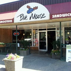 Photo taken at Blue Moose Coffee House by Wes on 9/4/2011