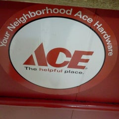 Photo taken at Ace Hardware by MB Noble on 6/1/2012