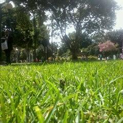 Photo taken at Parque de la 93 by Elkin M. on 7/18/2012