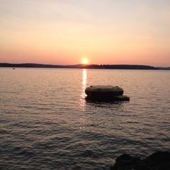 Photo taken at Lockes Island by Richard S. on 8/16/2012