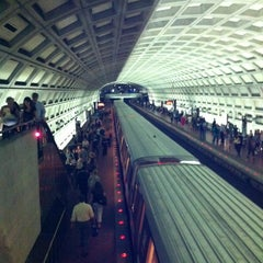 Photo taken at Dupont Circle Metro Station by Kevin D. on 7/12/2012
