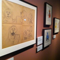Photo taken at Jim Henson's Fantastic World exhibit by Andia B. on 3/4/2012