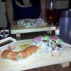 Photo taken at Cherin Sushi by Tara R. on 7/12/2012