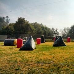 Photo taken at Hacienda Tobalaba by Felipe A. on 8/12/2012