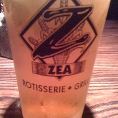 Photo taken at Zea Rotisserie & Grill by Dorothy M. on 3/13/2012