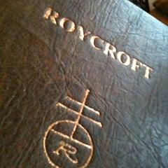 Photo taken at Roycroft Inn by Eric T. on 2/20/2012