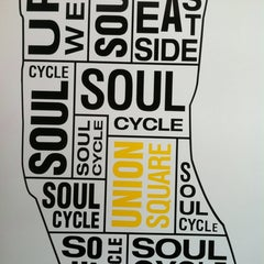 Photo taken at SoulCycle Union Square by Hallie G. on 3/18/2012