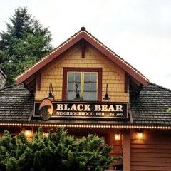Photo taken at Black Bear Neighbourhood Pub by Ron G. on 6/20/2012