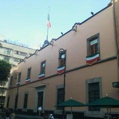 Photo taken at Antigua Sede del Senado de la República by Arturo H. on 9/6/2012