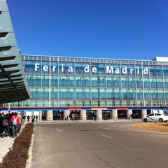 Photo taken at IFEMA (Feria de Madrid) by Jose Manuel R. on 2/23/2012