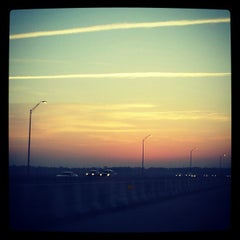 Photo taken at Henry Holland Buckman Bridge by Katie N. on 4/9/2012