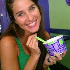 Photo taken at Yogurt Mountain by Brittany B. on 7/14/2012