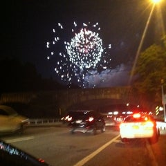 Photo taken at Long Island Expressway (LIE) (I-495) by Racine R. on 7/1/2012