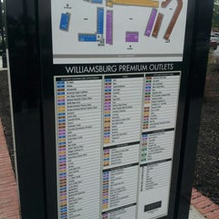 Photo taken at Williamsburg Premium Outlets by David H. on 8/30/2012