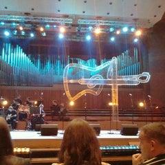 Photo taken at Koncertna dvorana Vatroslava Lisinskog by Ivan D. on 4/15/2012