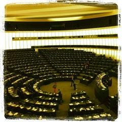 Photo taken at Parlement Européen by Michel on 7/3/2012