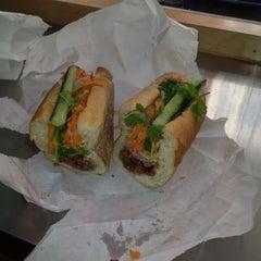 Photo taken at Saigon Vietnamese Sandwich Deli by Caroline K. on 9/6/2012