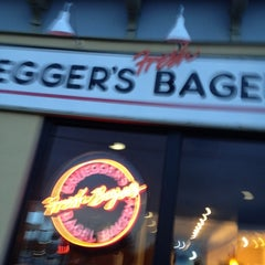 Photo taken at Bruegger's by Peter B. on 3/28/2012