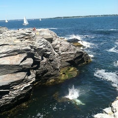 Photo taken at Beavertail State Park by Emily G. on 7/10/2011