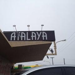 Photo taken at Parador Atalaya by Sergio C. on 6/6/2012
