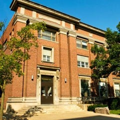 Photo taken at Trowbridge Hall by The University of Iowa on 8/26/2011
