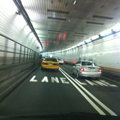 Photo taken at Holland Tunnel by Gabi on 4/8/2012