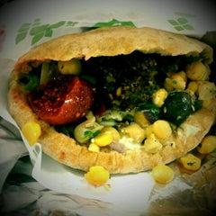 Photo taken at Maoz Vegetarian by Gary on 3/7/2012