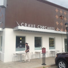 Photo taken at Crave Cupcakes by Meshari A. on 5/5/2012