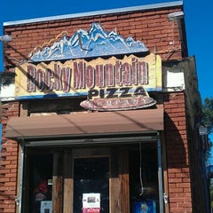 Photo taken at Rocky Mountain Pizza by Aaron C. on 10/26/2011