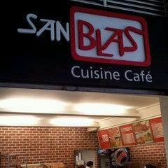 Photo taken at San Blas Cuisine Café by Alberto E. on 4/13/2012
