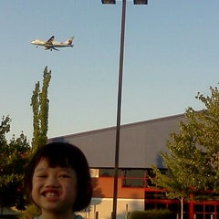 Photo taken at PDX Airport Blue Lot by Jerry S. on 9/5/2011