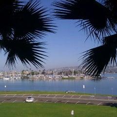 Photo taken at Bahia Resort Hotel - San Diego by Becky K. on 2/10/2012