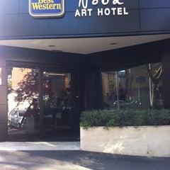 Photo taken at Best Western Art Hotel Noba by Manlio M. on 10/23/2011
