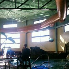Photo taken at Castle Rock Community Recreation Center Leisure Pool by kelli t. on 12/7/2011
