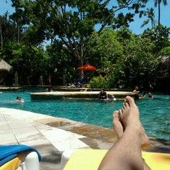 Photo taken at Waterbom Bali by Rama D. on 11/26/2011