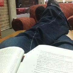 Photo taken at Karrmann Library at UW-Platteville by Kelsey F. on 12/13/2011