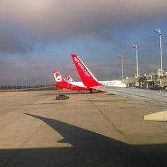 Photo taken at Air Berlin Check-In by siMone K. on 1/26/2012