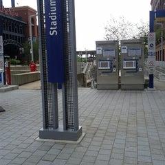 Photo taken at MetroLink - Stadium Station by Chris on 9/6/2012
