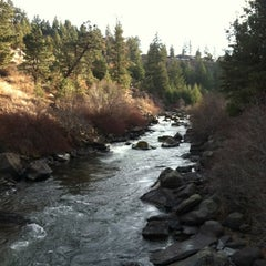 Photo taken at Deschutes River Trail Footbridge by Kaylie T. on 1/13/2012