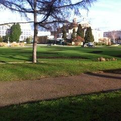 Photo taken at Imperial Gardens by NIck S. on 1/7/2012