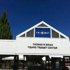 Photo taken at TriMet Tigard Transit Center by Alexvember XVII on 6/27/2012
