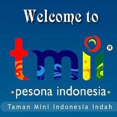Photo taken at Taman Mini Indonesia Indah (TMII) by Dwiki S. on 4/30/2012