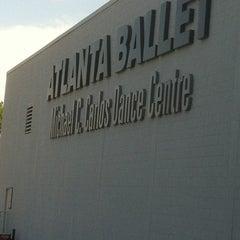 Photo taken at Michael C. Carlos Dance Centre - Atlanta Ballet by Plez J. on 5/5/2012