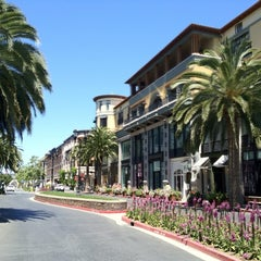 Photo taken at Santana Row by Jeanette G. on 5/23/2012