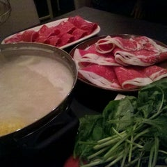 Photo taken at Shabu by Becki W. on 9/6/2011