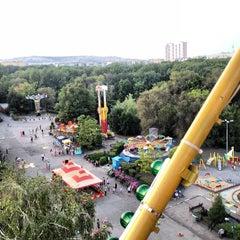 Photo taken at Городской парк культуры и отдыха им. М. Горького by DJ Satellite on 8/9/2012