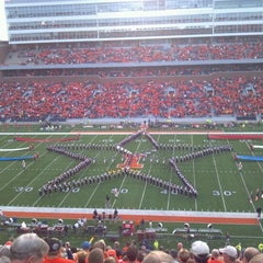 Photo taken at Memorial Stadium by Dave M. on 9/18/2011