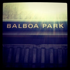 Photo taken at Balboa Park BART Station by Emily L. on 5/20/2011