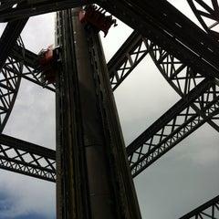 Photo taken at La Tour Eiffel by Carol M. on 1/14/2012