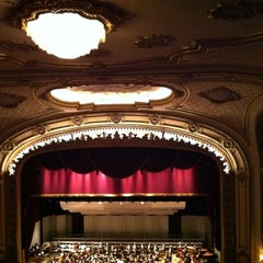 Photo taken at Palace Theatre by Charles N. on 4/21/2012